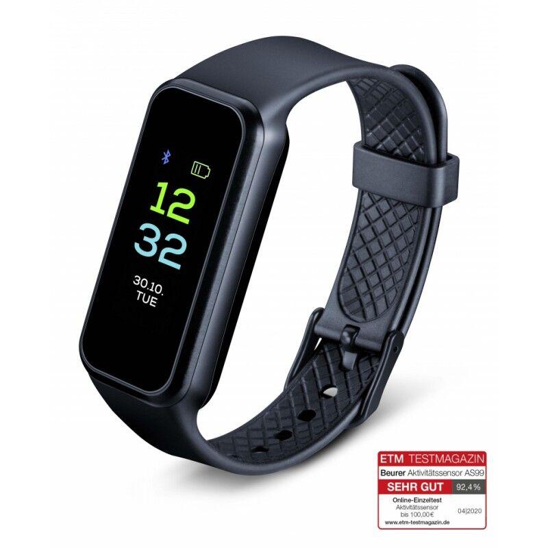 Beurer AS99 Bluetooth Pulse Activity Tracker Black 1 stk Sportsutstyr
