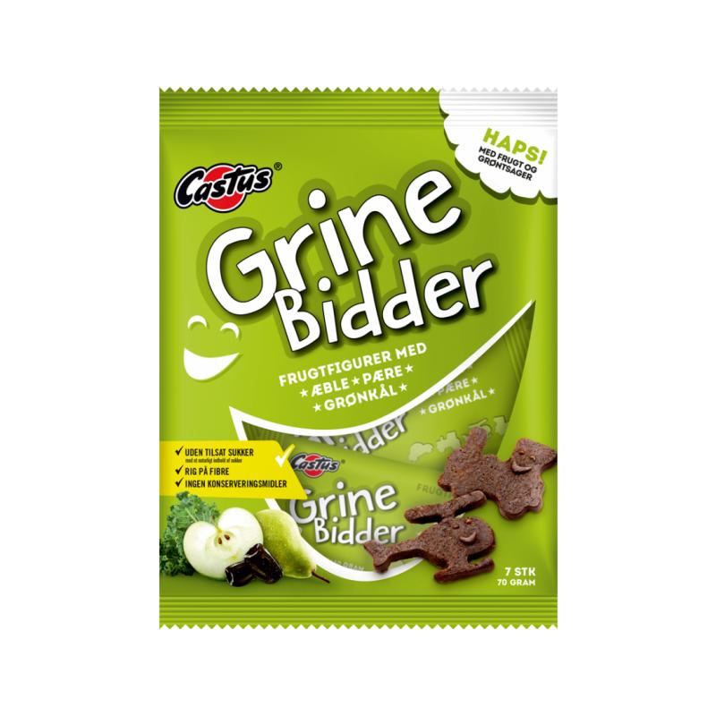Castus Eple, Pære & Grønnkål Grinebidder 70 g Tørket Frukt