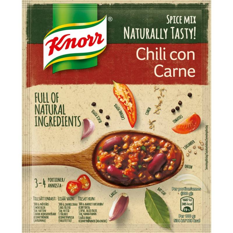 Knorr Chili con Carne Spice Mix 64 g Krydder