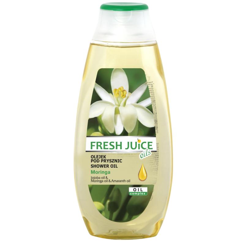 Fresh Juice Moringa & Amaranth Shower Oil 400 ml Badeolje