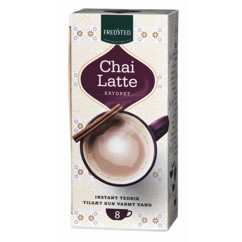 Fredsted Chai Latte Spiced 208 g Te
