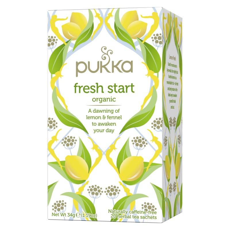 Pukka Fresh Start Tea Øko 20 sachets Te