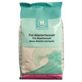 Urtekram Fint Atlanterhavssalt 1000 g Krydder