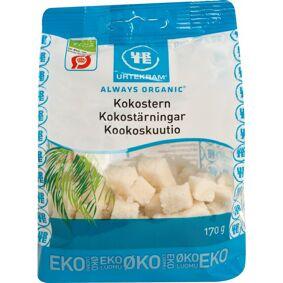 Urtekram Kokosterninger Øko 170 g Snack