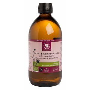 Urtekram Linfrø & kveldsfrøolje Eco 500 ml Olje