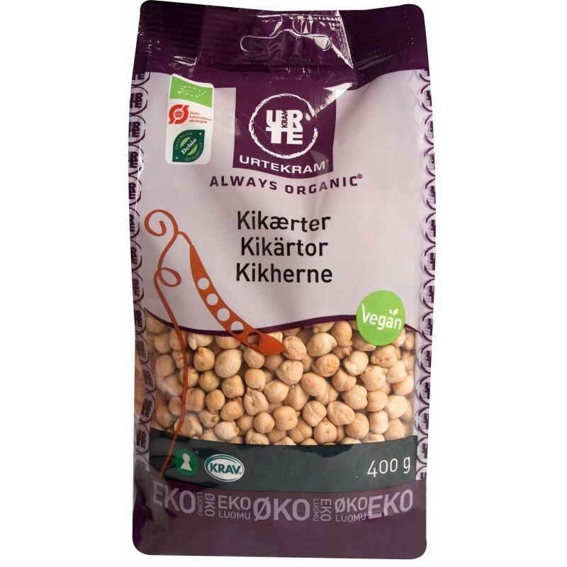 Urtekram Kikerter Eco 400 g Bønner og linser
