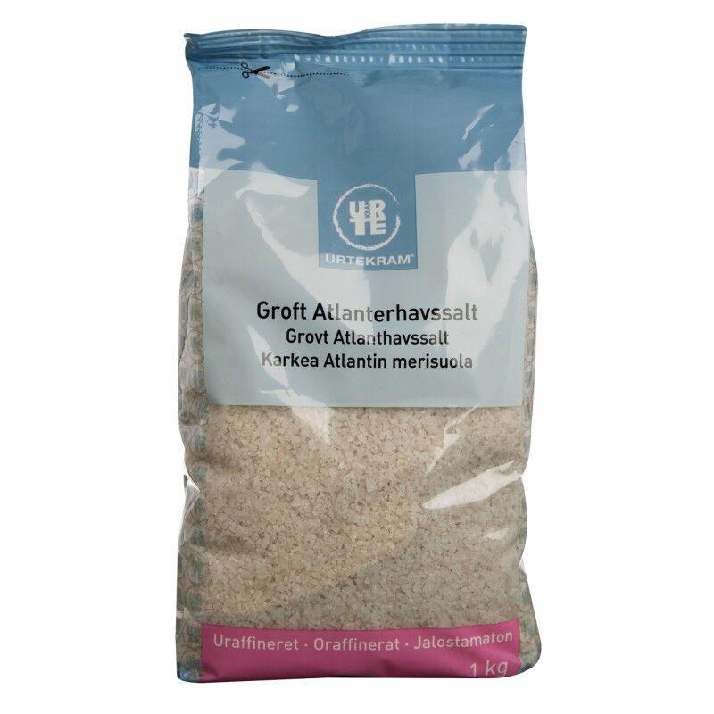 Urtekram Grovt Atlantiskhavsalt 1000 g Krydder