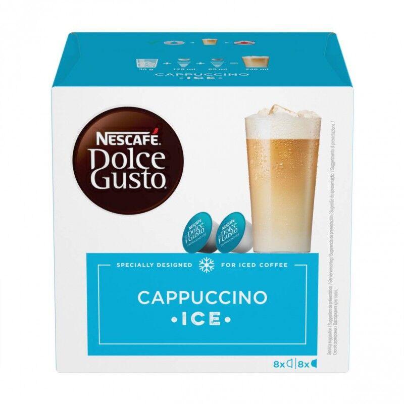 Nescafe Dolce Gusto Cappuccino Ice 16 stk Kaffekapsler