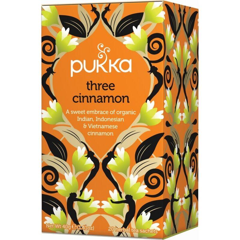 Pukka Three Cinnamon Tea Øko 20 sachets Te