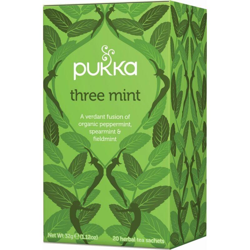 Pukka Three Mint Tea Øko 20 sachets Te