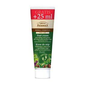 Green Pharmacy Foot Cream Tired & Swollen Legs 75 ml Fotkrem