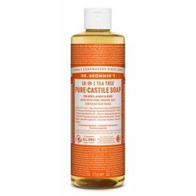 Dr. Bronner's Castile Soap Tea Tree 475 ml Såpe