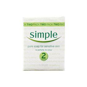 Simple Pure Soap Twin Pack 2 stk Håndsåpe