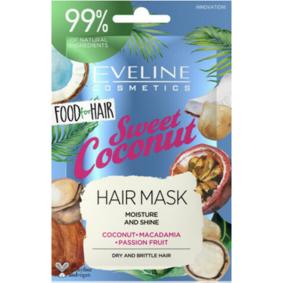 Eveline Sweet Coconut Hair Mask 20 ml Hårmaske