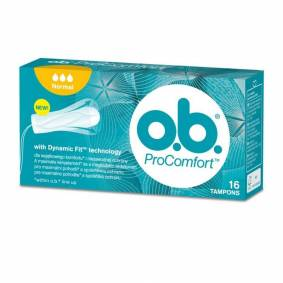 O.B. Pro Comfort Normal 16 stk Tamponger