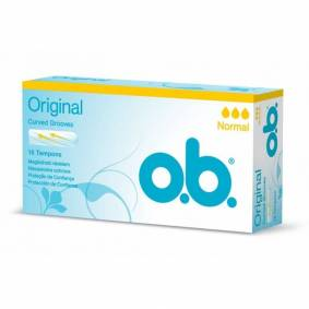 O.B. Original Normal 16 stk Tamponger