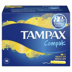 Tampax Compax Regular 16 stk Tamponger