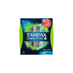 Tampax Compak Pearl Super 18 stk Tamponger