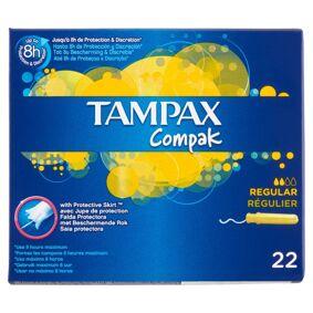 Tampax Compak Regular 22 stk Tamponger