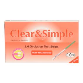 Clear & Simple 5 Ovulation Test Strips 5 stk Eggløsningstest