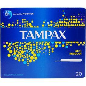 Tampax Blue Regular 20 stk Tamponger