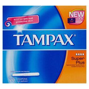 Tampax Blue Super Plus 20 stk Tamponger