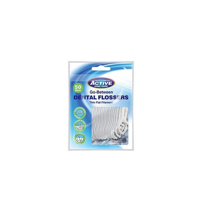 Active Oral Care Go-Between Mellomromsbørster 50 stk Tanntråd