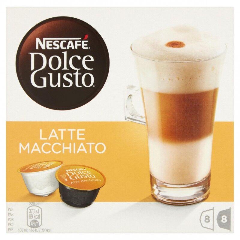 Nescafe Dolce Gusto Latte Macchiato 16 stk Kaffekapsler