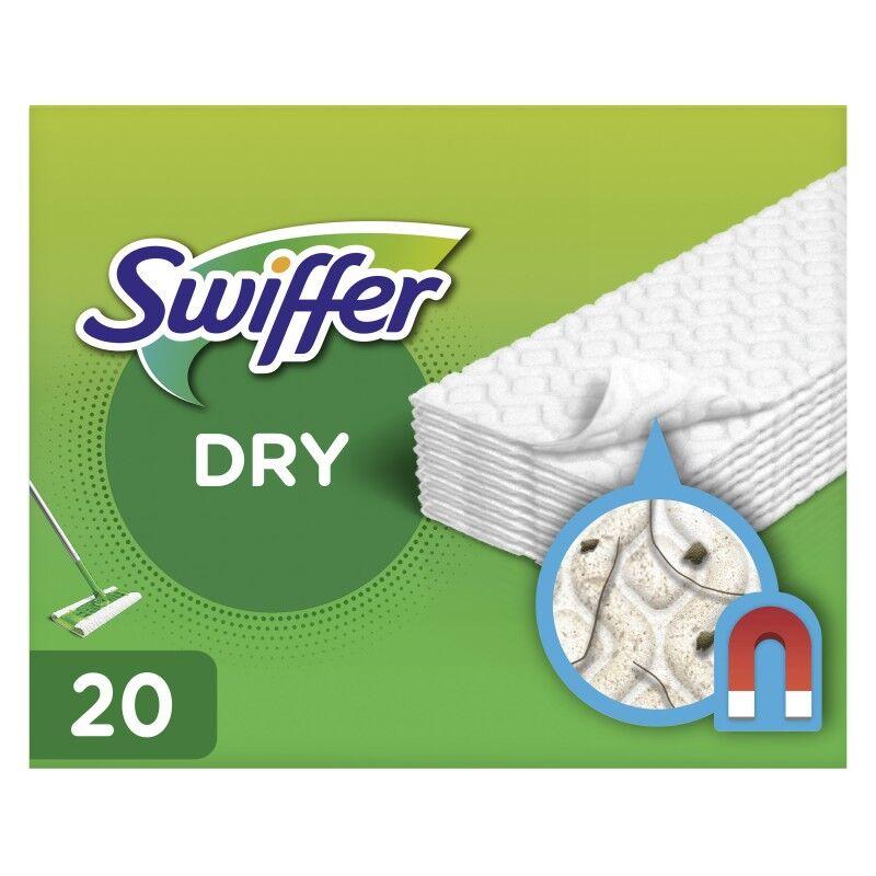 Swiffer Floor Handle Mop Dry Refills 20 pcs Rengjøringsmiddel