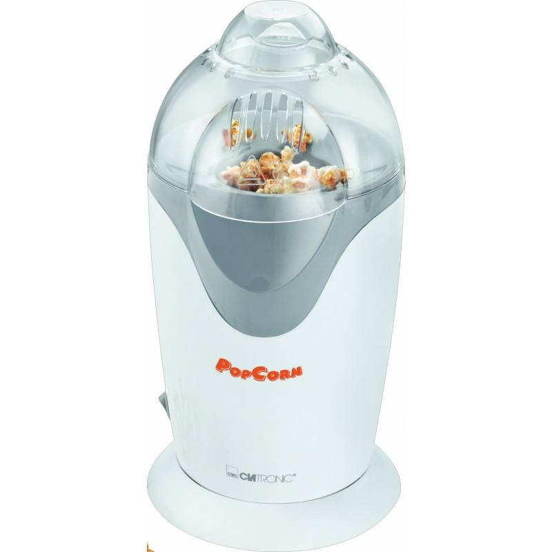 Clatronic PM 3635 Popcorn Maker White 1 stk Kjøkkenutstyr