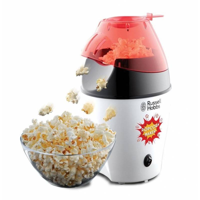 Russell Hobbs 24630-56 Fiesta Popcorn Maker 1 stk Kjøkkenutstyr
