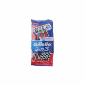 Gillette Blue3 Engangshøvler Nitro 6 stk Engangshøvler