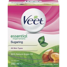 Veet Essential Inspirations Sugaring Argan Oil 250 ml Hårfjerning