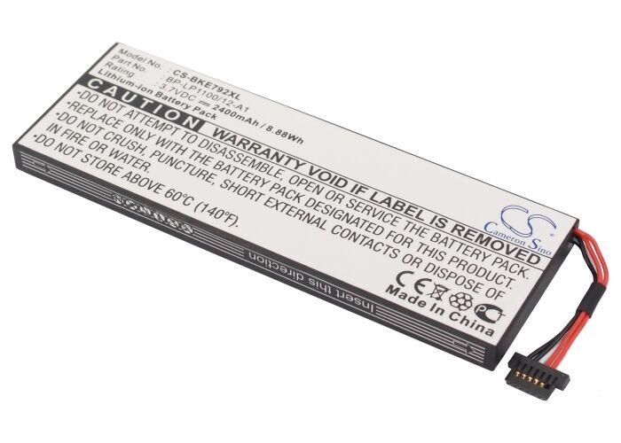Becker Traffic Assist 7928 Batteri til GPS 2400 mAh 105.35 x 36.90 x