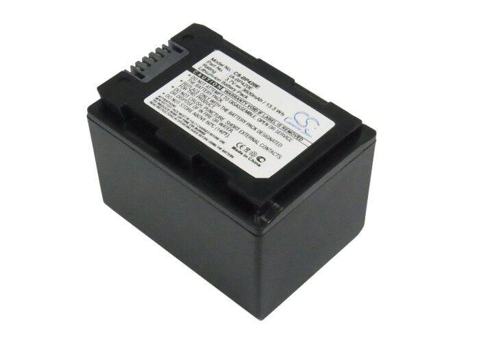 Samsung HMX-S10BP Batteri til Kamera 3.7V 3600 mAh