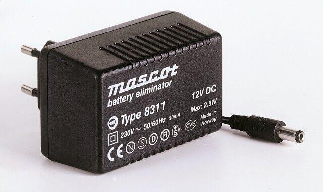 6VDC Strømforsyning 0.4A/2.5W AC/DC Mascot 8311