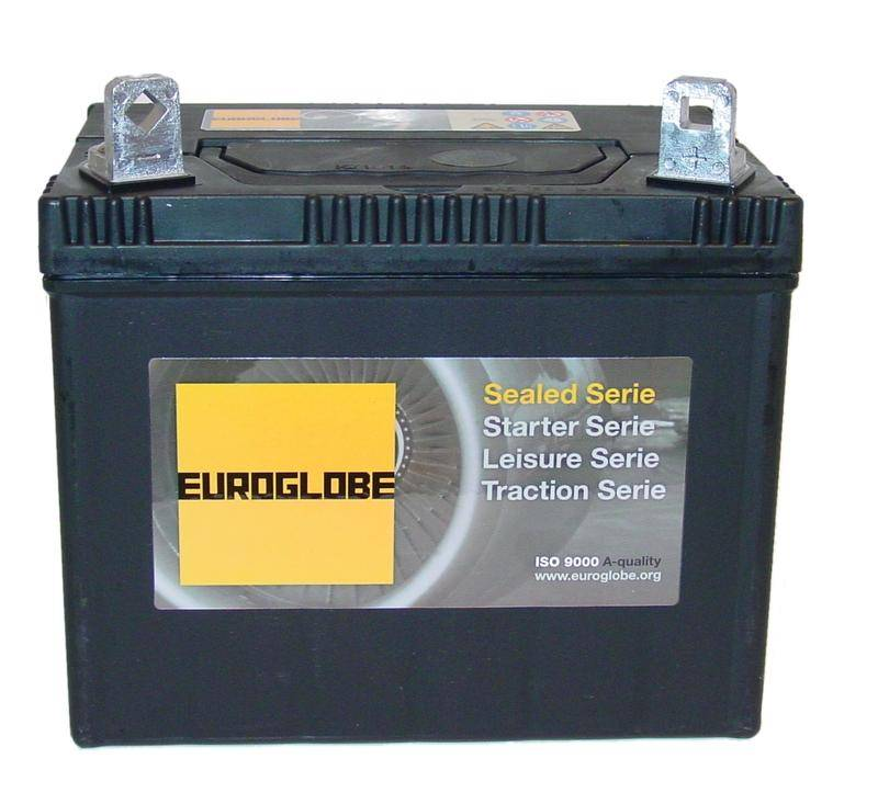 U1R 45576 SMF batteri til MC og ATV 12V 28Ah (192x125x153mm)