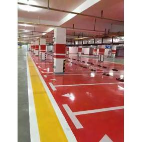 Roll coating of epoxy resin floor paint Dustproof, wear-resistant, bright light, easy to clean
