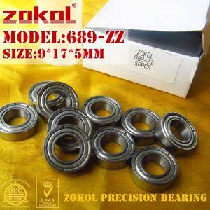 ZOKOL bearing 689 ZZ 2RS Z1 689RS P5Z4 Miniature Deep Groove ball bearing 9*17*5mm