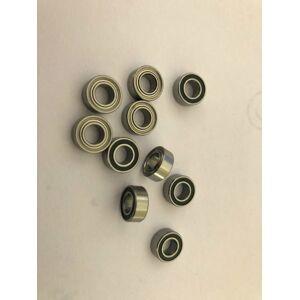 R2 R2ZZ R2RS R2-2Z R2Z R2-2RS ZZ RS RZ 2RZ Deep Groove Ball Bearings 3.175 x 9.525 x 3.967mm High 1/8