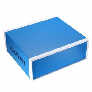 Pro-Ject uxcell Waterproof Cover Electronic Project DIY Junction Box Electronic Iron Enclosure Case 200x165x90mm 210x180x140mm Blue