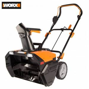 Snow Sweeper Worx WG471E.9 Tools Garden Cleaning Tool plow removal machine Sweepers technic machines battery brushless electric cleaner