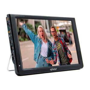 Car TV eplutus ep-124t works format digital broadcast DVB-T2 built-in battery, 12,1 inch. 1440*1080