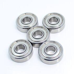 MR616ZZ Ball Bearing 6*16*5 mm 5PCS ABEC-3 Non Standard B6-63Z R-1660HH Deep Groove Bearings MR616 Z B6-63