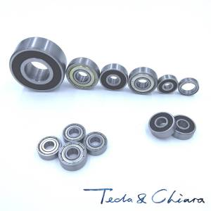 R8 R8ZZ R8RS R8-2Z R8Z R8-2RS ZZ RS RZ 2RZ Deep Groove Ball Bearings 12.7 x 28.575 x 7.938mm 1/2