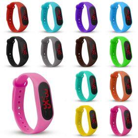 NEW Students watch Bracelet Watch Children Watches Kids For Girls Boys Sport Electronic Wristwatch LED Digital Child Wrist Clock