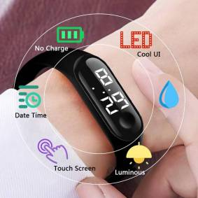 CAINUOS kids watches Children Watch Bracelet For Girls Boys Sport digital relogio hombre LED Digital Child Clock Students Watch