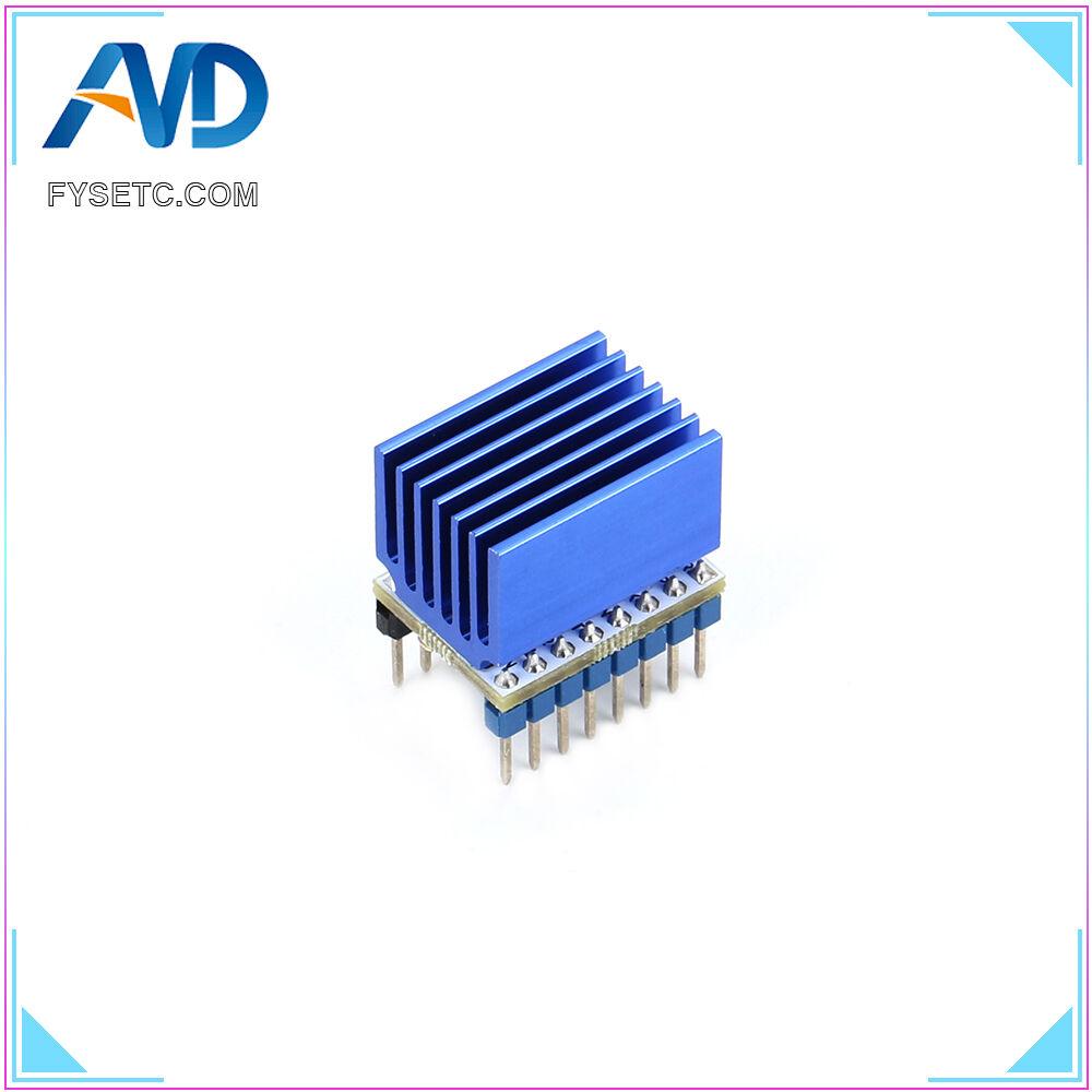 3D Printer Parts Stepper Motor Big Blue Aluminum Driver Heat Sink Cooling Block Heatsink For FYSETC TMC2100 TMC2208 V1.2 TMC2130