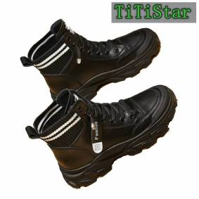 Really Buff Dr. Martens Boots Children British Autumn and Winter 2020 New High-Top Shoes Fleece Female Boots