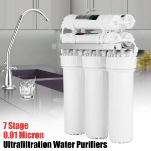7 Drinking Water Filter UF Ultrafiltration System Home Kitchen Purifier Water Filters With Faucet Valve Water Pipe